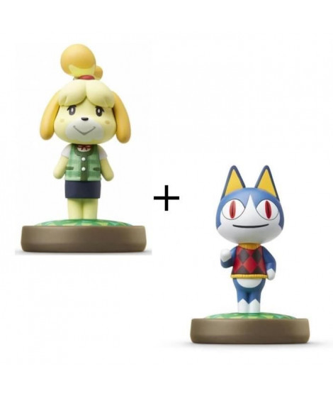 Pack de 2 Amiibos Animal Crossing : Marie et Charly