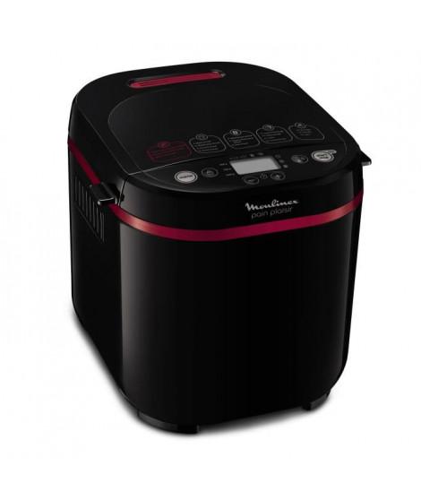 MOULINEX - Pain plaisir 1kg-machine a pain 17 programmes, coloris noir et pourpre - OW220830