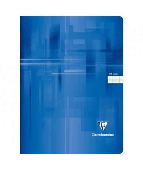 CLAIREFONTAINE Cahier piqûre - 96 pages - 24 x 32 cm - 90 g - Vert