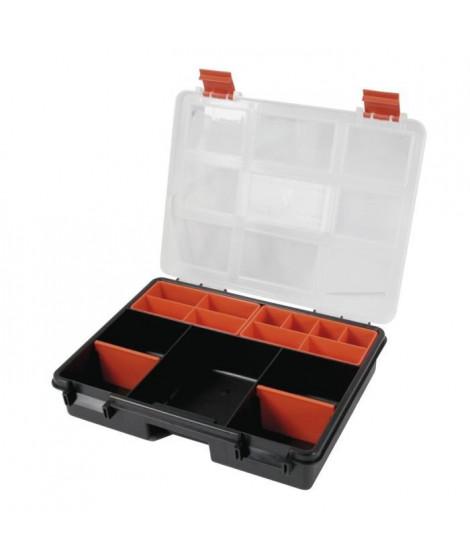 COGEX Boîte de rangement vide plastique 9 cases