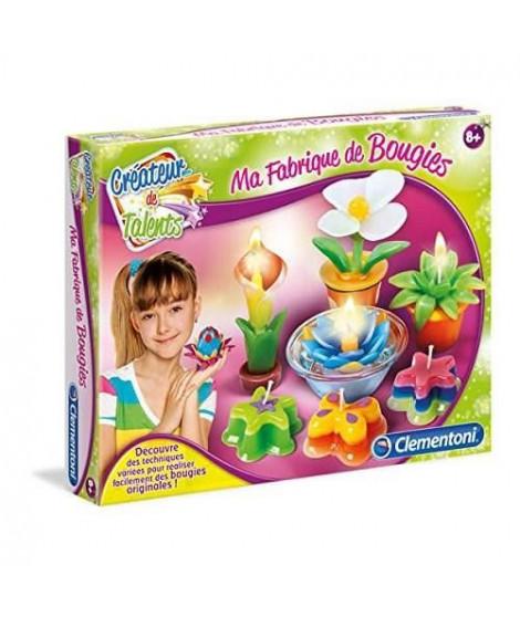 CLEMENTONI - Loisirs Créatifs Enfant - Ma Fabrique a Bougies