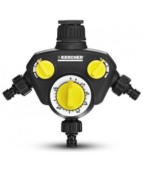 KARCHER Minuterie d'arrosage WT 2 - 3 sorties d'eau indépendante