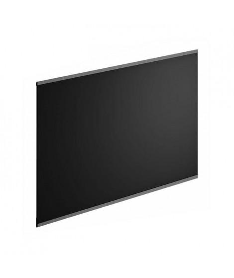 Crédence en verre de 5mm d'épaisseur - Noir - 80x45cm
