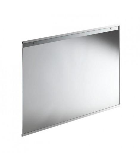 Fond de hotte en verre de 5mm d'épaisseur -Transparent - 90x70cm