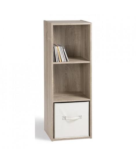 COMPO Meuble de rangement contemporain décor chene - L 31 cm