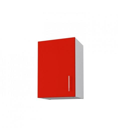 OBI Meuble haut de cuisine L 40 cm - Rouge mat