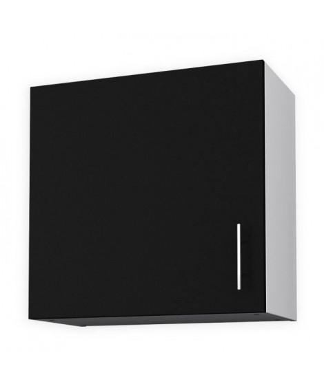 OBI Meuble haut de cuisine L 60 cm - Noir mat