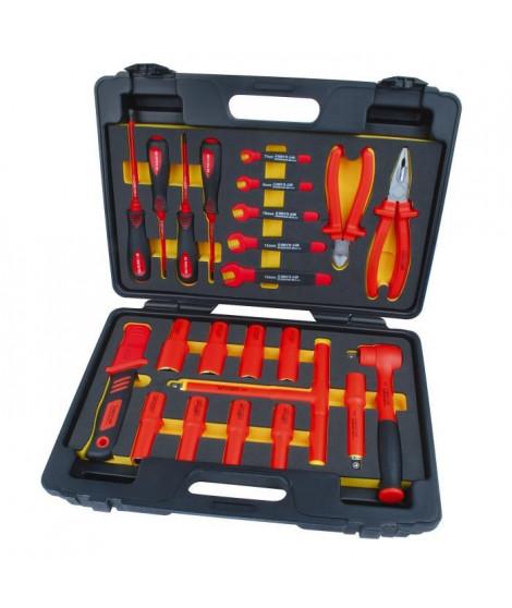 MANNESMANN Jeu de 24 outils pour électricien - Avec malette
