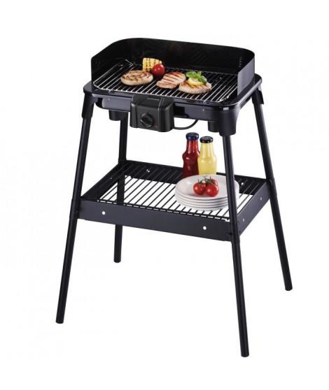 SEVERIN 2792 Barbecue sur pied 41x26 - 2500 W - Noir