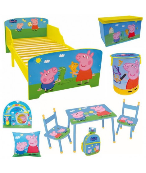 PEPPA PIG Pack chambre pour enfant - Garçon et Fille