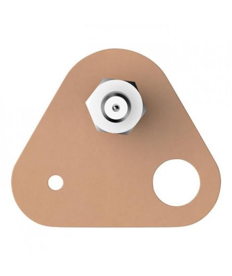 TESA Vis adhésives triangulaires - Pour brique & pierre - Charge supportée : 2,5 Kg