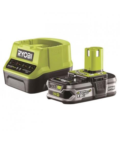 RYOBI Pack Chargeur + Batterie - 18V 1,5Ah