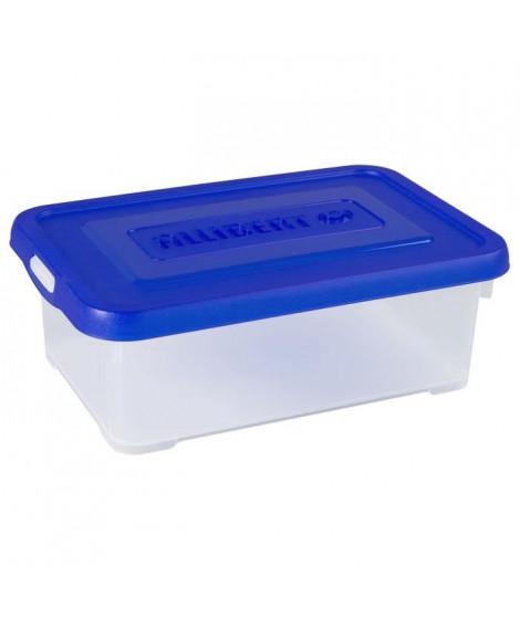 ALLIBERT Boîte de rangement Handy - Couvercle bleu - 4 L