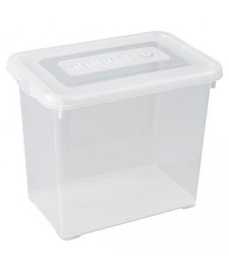 ALLIBERT Boîte de rangement Handy - Couvercle transparent - 9 L