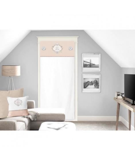 SOLEIL D'OCRE Brise bise Esprit Famille 100% Coton 70x200 cm - Naturel