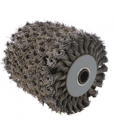 FARTOOLS Brosse métallique torsadée pour rénovateur - Moyeu plastique