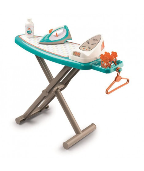 SMOBY Table A Repasser + Centrale Vapeur (Jeu d'Imitation)