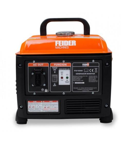 FEIDER Groupe électrogene inverter FG1600I - 1200 W - Moteur essence 4 temps 53,5 cm³
