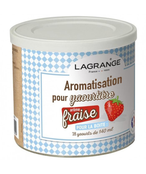 LAGRANGE Aromatisation fraise pour yaourts
