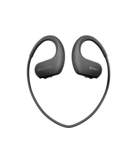 SONY - Walkman Sport, étanche, 4Go, Noir