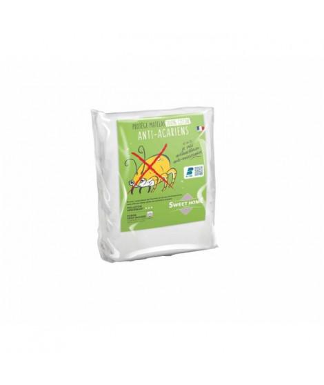 SWEETHOME Protege-oreiller 100% coton - Anti-acariens - 65x65 cm