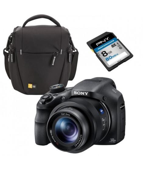 SONY DSC-HX350 Appareil photo numérique Bridge +  Sacoche Reflex
