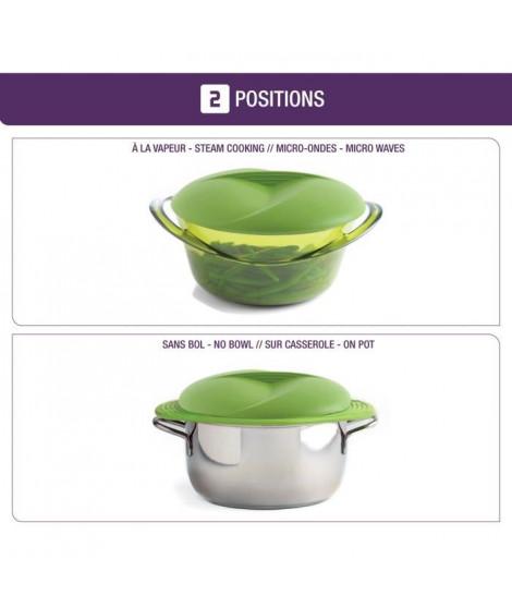 MASTRAD Panier cuit-vapeur F70018 - Vert