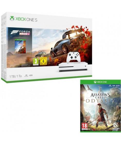 Xbox One S 1 To Forza Horizon 4 + Assassin's Creed Odyssey