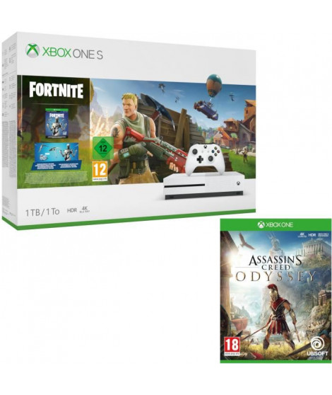 Xbox One S 1 To Fortnite + Assassin's Creed Odyssey