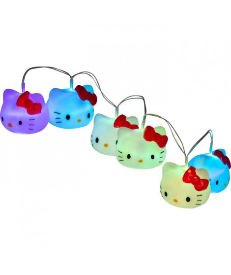 HELLO KITTY Guirlande lumineuse - Blanc