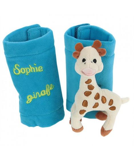 VULLI Protege Enrouleur Bleu Sophie La Girafe