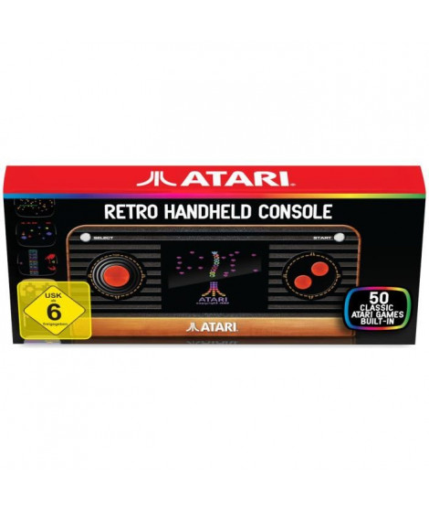 Console Atari 2600 portable TV + 50 jeux