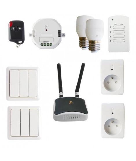 IDK Multimedia SmartHome Kit éclairage et volets