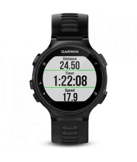 GARMIN Montre GPS Forerunner 735XT Run Bundle - Noir et gris