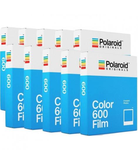 POLAROID ORIGINAL 4670 Film instantané couleur - Pour appareil photo i-type, 600 et One step Pack de 10