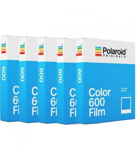 POLAROID ORIGINAL 4670 Film instantané couleur - Pour appareil photo i-type, 600 et One step Pack de 5