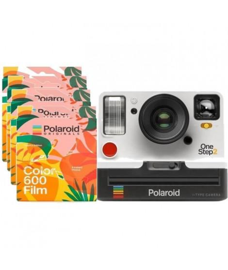 Polaroid OneStep2 - Avec Viseur - Appareil photo instantané - Blanc + 32 Films Tropics