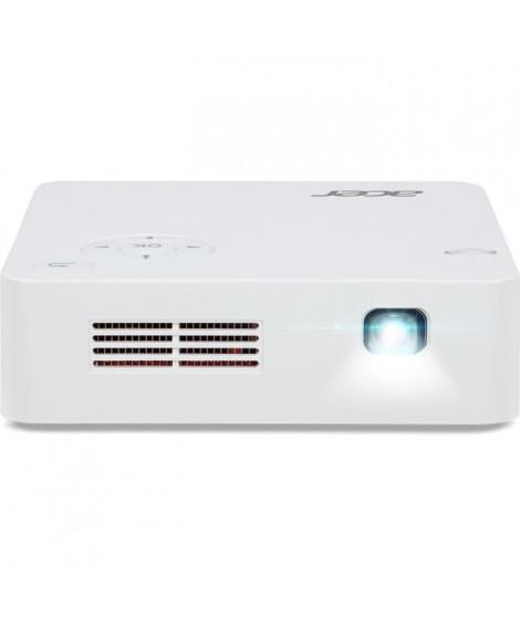 ACER C202i Vidéoprojecteur mobile LED DLP FWVGA 300 Lumens - Blanc