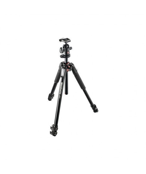 Manfrotto Kit 055 - 3 sections aluminium + rotule 3D