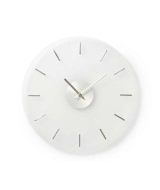 NEDIS Horloge murale circulaire - Ø 30 cm - Style Elégant - Verre