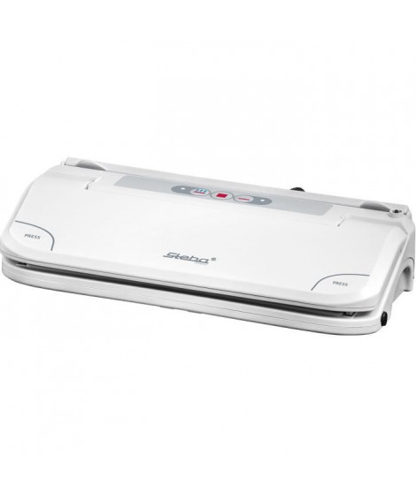 STEBA 050500 VK5 Machine a vide d'air - Pour films et sacs jusqu'a 30 cm - Blanc