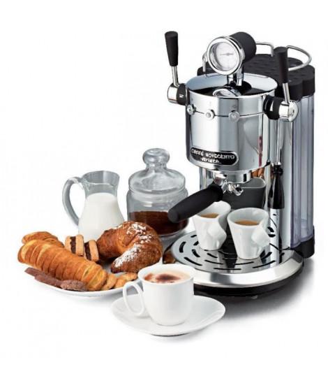 ARIETE 1387 Novecento Machine espresso + dosette ESE - 1150 W - 15 bars - Fonction Cappucino