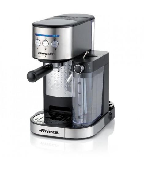 ARIETE 1384 Cremissima Machine espresso + dosette ESE - Fonction Café Latte + Cappucino - Puissance 1470 W - 15 bars
