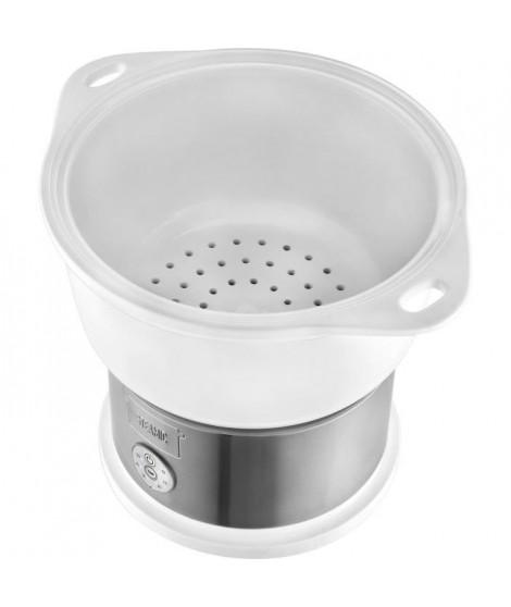 KALORIK TKGDG1002 Cuiseur vapeur céramique - 700 W - Bol en céramique - Blanc