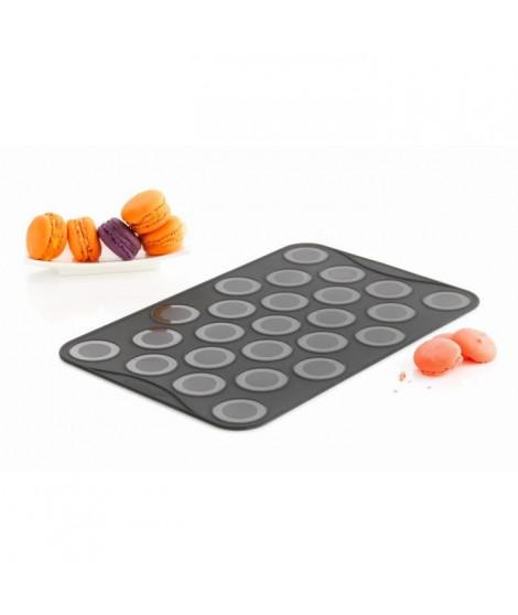MASTRAD F45514 Feuille de cuisson - Spécial petits Macarons - Lot de 2