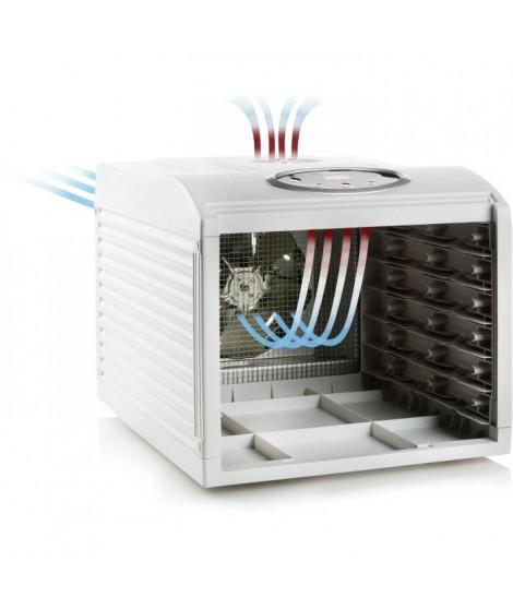 DOMO DO353DV Déshydrateur digital - Températures 35°C a 70°C - 6 niveaux en acier inoxydable