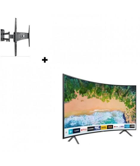Samsung UE49NU7372KXXC TV LED + MELICONI Curved 400DR