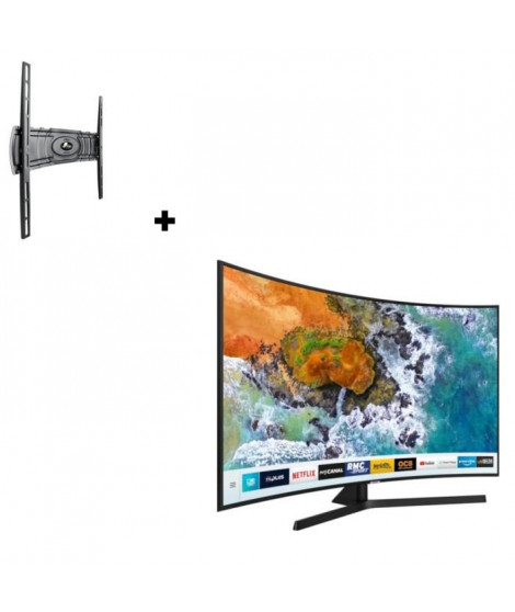 SAMSUNG UE49NU7505 TV LED 4K UHD + MELICONI CURVED 400