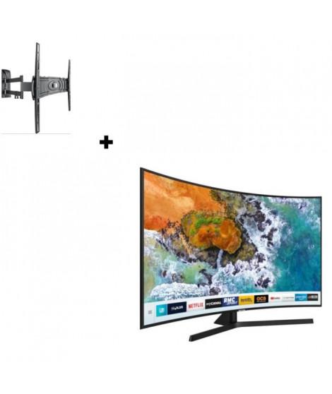 SAMSUNG UE49NU7505 TV LED 4K UHD + MELICONI Curved 400DR