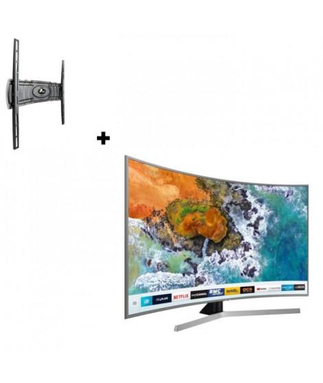 "SAMSUNG UE49NU7672 TV 4K UHD 49"" + MELICONI CURVED 400"